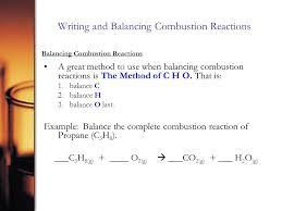 10 writing and balancing