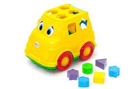 <b>Сортер ORION TOYS</b> Логика Автобус 195, 1001263 желтый ...