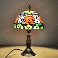 awesome tiffany glass lamps free style peony rose small lamp glass lamps write bedroom den