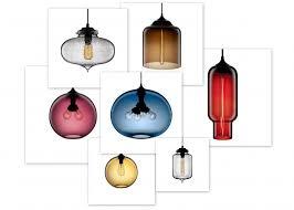 unique contemporary lighting. Top 50 Unique Cool Niche Modern Blown Glass Pendant Lights In Smoke Home Design Contemporary Lighting By Jeremy Pyles For Decor Ideas Orange Paint Color