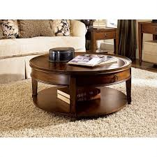 hammary sunset valley cocktail table in rich mahogany img