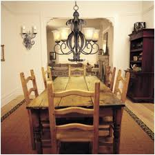 Kitchen And Dining Room Lighting Dining Room Round Bamboo Design Casual Dining Set On Nice Dining