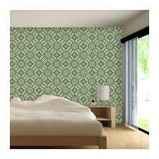 wall stencil large geometric pattern geoffrey for wall decor and more