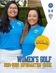2019-2020 UCLA Women's Golf Information Guide by UCLA Athletics ...