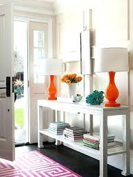 how to decorate a console table. Decorating A Console Table In Entryway How To Decorate Colorful