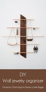 Hanging Necklace Organizer The 25 Best Hanging Jewelry Organizer Ideas On Pinterest Diy
