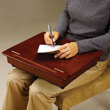 best the wooden storage lap desk hammacher schlemmer for with trends and ideas lap desk with