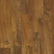 style selections 5 43 in w x 3 976 ft l brazilian teak wood plank laminate