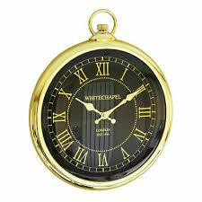 35cm large vintage pocket watch style