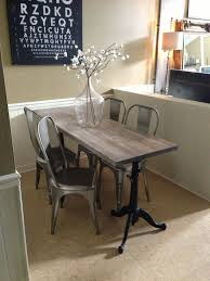 stylish narrow dining room table narrow dining table is right for smaller dining room the new way