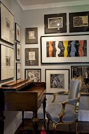 wall art for home office. Marimekko Wall Art Home Office Contemporary With Wooden Desk Dark Floor For K