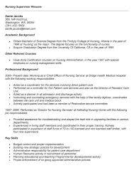 nursing leadership resume sales nursing lewesmr supervisor resume sample