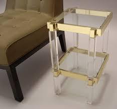 clear acrylic furniture. lucite acrylic console table custom furniture desk clear c