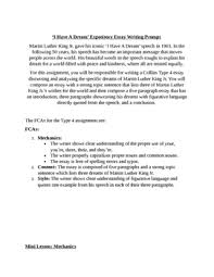 black history month i have a dream expository essay collins writing