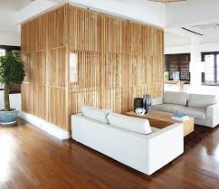 Verschuifbare Houten Wand Japanse Woonkamer Interieur Japans