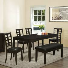 Big Small Dining Room Sets With Bench Seating Contemporary - Asian inspired dining room
