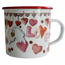 """<b>Кружка</b> 570 мл """"Сердечки Любви"""" Love Hearts <b>Gift</b>'n'<b>Home</b> - цена ..."""