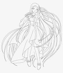 Color your favorite disney characters. Mermaid Melody Sara Coloring Pages 3 By Jasmine Mermaid Melody Sara Coloring Pages Png Image Transparent Png Free Download On Seekpng