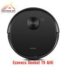 Robot hút bụi Ecovacs Deebot T9 AiVi, mẫu robot mới nhất 2021, lực hút  3000, pin 5200, mới 100%. Quà tặng 1 Triệu