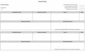 Free Fillable Genealogy Forms Research Log Genealogy