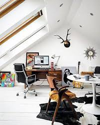 home office man cave. White Paint Attic Office Cool Man Cave Ideas Home