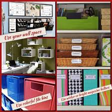 organize office. Exellent Office Creative Ways To Organize Your Home Office With