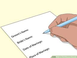Print Divorce Papers Amazing 48 Ways To Find Divorce Records WikiHow