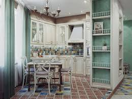 kitchen captivating shabby chic kitchen decor with wood arched window also distressed wooden island amazing