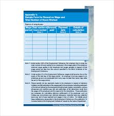 Employee Record Templates 26 Free Word Pdf Documents Download