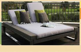 Modern outdoor daybed Inspirations 2014 Hot Koop Luxe Moderne Outdoor Dubbele Rotan Sunny Lounger Daybed Aliexpress 2014 Hot Koop Luxe Moderne Outdoor Dubbele Rotan Sunny Lounger