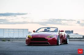 Widebody Aston Martin Vantage Roadster With GT3-spec Diffuser ...