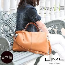 来夢 lime l1802 12 camel cowhide leather travel bag