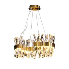 Modern Design Large Crystal Chandelier Hotel Lighting Ac110v