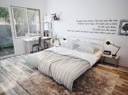 white walls text decorations