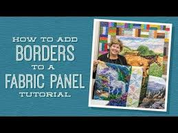 Best 25+ Quilting tutorials ideas on Pinterest | Quilting ... & How to Add Borders to a Quilt Panel - YouTube Adamdwight.com