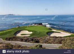 Designer Of Pebble Beach Golf Course A View Of Pebble Beach Golf Course Monterey California