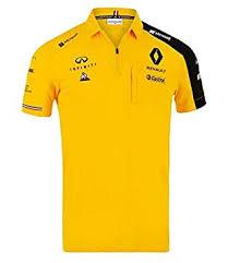 Renault F1 Yellow Team Polo Shirt : Clothing - Amazon.com