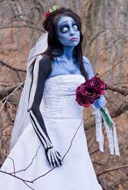 makeup ideas corpse bride