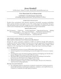 Sample Hospitality Resume Vice President Slot Operations ...