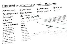 Power Words For Resumes Cover Letter Power Words Power Words Cover Letter For Resumes Resume