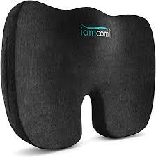 iamcomfi <b>Coccyx</b> Cushion - <b>Orthopedic Memory Foam</b> Support ...
