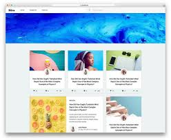 Free Templates 32 Best Free Blog Templates For Inspiring Blogs 2019