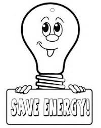 Coloring Pages Of Save Energy Coloring Electricity Colouring Pages