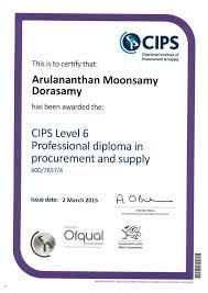professional diploma  cips professional diploma 2015