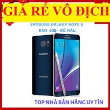 điện thoại Samsung Galaxy Note 5 ram 4G bộ nhớ 32G mới Chính Hãng - chơi  LIÊN QUÂN mượt (Xanh Đậm)