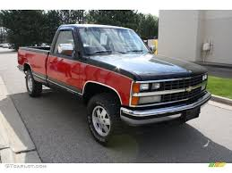 1989 Onyx Black Chevrolet C/K K1500 Regular Cab 4x4 #63555021 ...