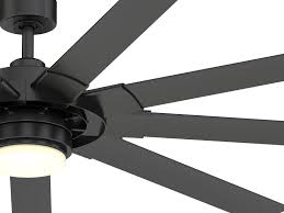 matte black led ceiling fan with remote