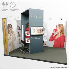 Uk Display Stands Ltd Trade Fair Display Stand 100m X 100m Exhibition System 90
