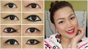 my easy everyday makeup routine 9 diffe kinds of eyeliner shape tutorial princesstetay you