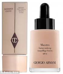 we are big fans of illuminating primer such as charlotte tilbury wonderglow instant soft focus